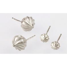 Iced Gem silver earrings by Rachel Jeffrey