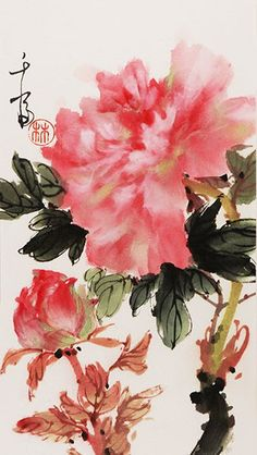 Grace_Chinese-Painting_flower_peonies_2