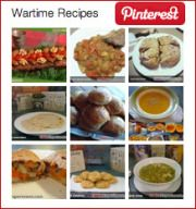 100 + Wartime Recipes | The 1940's Experiment - Kind of a neat site. She is using war time recipes to help lose weight. The blog is by Carolyn Ekins and she has been losing weight using a 1940′s ration book recipes and says that by eating these recipes that are healthy and very frugal that in 11 months she has lost 75 pounds.