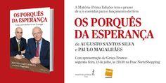 O convite de lançamento do livro no Porto, apresentado pela directora de informação da Rádio Renascença, Graça Franco.