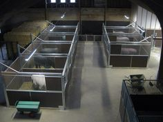 The stable partitions are actually gates. By Corton Stalls, NL.