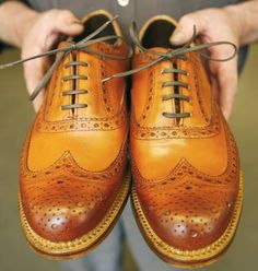 6 must have shoes #Zapatos Grenson – Archie Brogue #Shoes