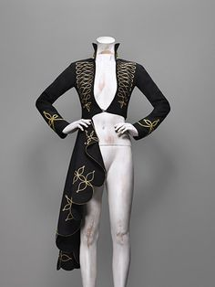 """In McQueen's Words  """"I spent a long time learning how to construct clothes, which is important to do before you can deconstruct them.""""  Self Service, Spring/Summer 2002"""