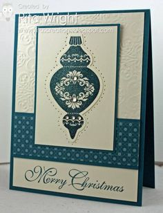 Ornament Sparkle by kyann22 - Cards and Paper Crafts at Splitcoaststampers
