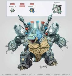 Pokemon Fusion Alternative Art Collection