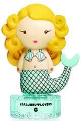 Harajuku Lovers Mermaid perfume. Apparently, mermaid perfume is a thing now and I'm the last to know.