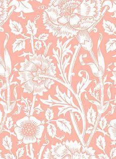 pink floral tile pattern (patternblog)