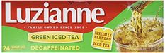 Luzianne Green Iced Tea Decaffeinated Family Size 24 Tea Bags -- You can find out more details at the link of the image.
