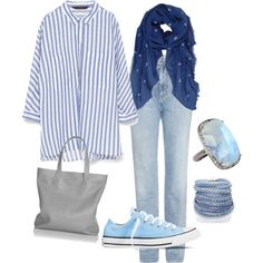 Casual Hijab Style #3 by ratn-a on Polyvore featuring polyvore fashion