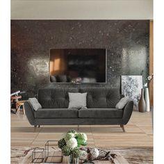 707 Sofa in Dark Grey by ESF