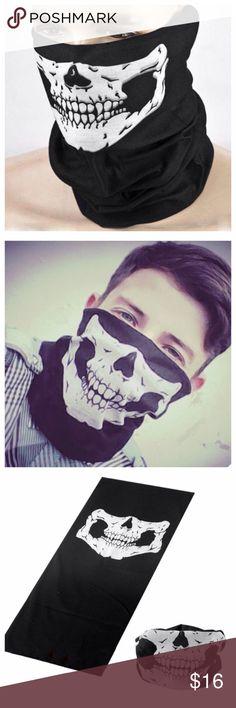 👻SALE 🎃🎃 Halloween Mask 🎃🎃👻 🎃🎃Halloween Skull Mask Festival 🎃🎃 for men and women🎃🙀👻👻👻#mask#trendy# Accessories Scarves & Wraps