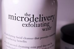 Exfoliate: This exfoliating wash is gentle enough to use daily while replenishing your skin with topical antioxidants and retaining its moisture level. The resurfacing benefits of this foamy wash are priceless and will leave your skin pretty darn close to looking poreless.