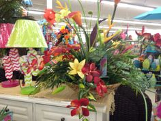 Tropical arrangement by Susan