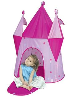 Princess Castle Girls Pop-up Play Tent Pink Lady Dream House Princess Castle, Pink Princess, Girls Play Tent, Play Tents, Pop Up Play, Girl Dinosaur, Indoor Play, Indoor Outdoor, Fairy Princesses