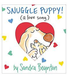 Sandra Boynton Snuggle Puppy A Little Love Song Book