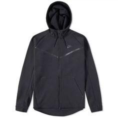 ff197d4d Nike Tech Fleece Full Zip Hoodie - Black - Large #fashion #clothing #shoes