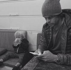 Eric and Wyatt.