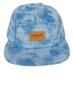 Akomplice - Blue Dip 5 Panel Camper Cap -  32 9d020be890b3