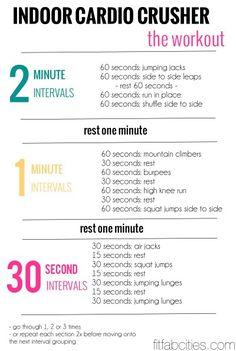 Indoor Cardio Workout