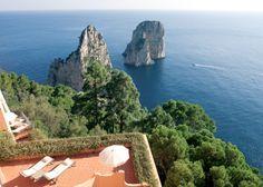 Penthouse at Hotel Punta Tragara, Capri, Italy Naples Hotel, Toscana Italy, Italy Italy, Sorrento Italy, Naples Italy, Venice Italy, Capri Italy, Italy Vacation, Italy Trip