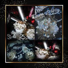 Vă propunem coafuri deosebite, de sărbătoare!  Pentru înnobilarea coafurii 👑 vă veți putea alege oricare dintre aceste minunate accesorii și bijuterii 💎 care împreună cu hairstyling-ul sunt CADOUL NOSTRU🎁 pentru Dvs.! Dacă nu vă veți putea decide, după realizarea coafurii, noi vă vom accesoriza ceva potrivit: simplu sau complex, auriu sau argintiu, cu strasuri sau cu perle   *Acestea sunt cadouri cu personalitate de la noi și nu vor trebui returnate! Christmas Wreaths, Christmas Tree, Cosmetics, Crystals, Holiday Decor, Home Decor, Teal Christmas Tree, Decoration Home, Room Decor