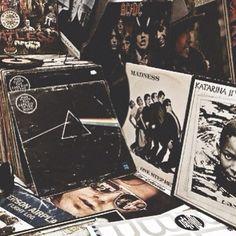 vinyl collection shot by Evangelina Fysa.