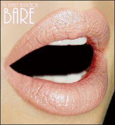 Pink Nude Lipstick Bare by MyBeautyAddiction on Etsy, $7.50
