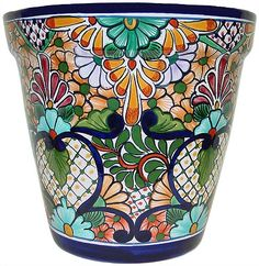Talavera Planter -- have one similar. Remember to bring them in for winter!