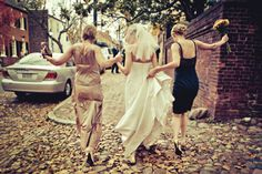 Mom + sister + bride
