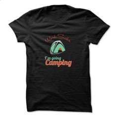 Camping t-shirt - I am going camping - #clothes #novelty t shirts. MORE INFO => https://www.sunfrog.com/Camping/I-am-going-camping.html?60505
