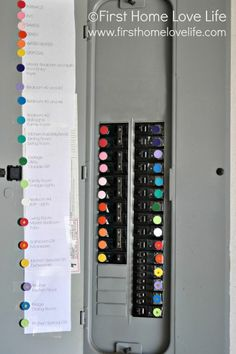 How to {Color Code} your {Breaker Box} to save a load of trouble!