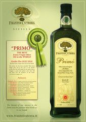 Primo Extra Virgin Olive Oil MONTI IBLEI D.O.P New Harvest 2012-2013 Superb Sicilian oil, recently voted Best Extra Virgin Olive Oil in the World by the prestigious Guida Flos Olei 2010 (which rates over 600 of the best oils from 40 countries). Frantoi Cutreras family estate is situated in Chiaramonte Gulfi, in the heart of the Iblei mountains in southeast Sicily. For many generations they have devoted their skills to the cultivation of the olive.