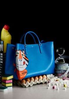 Counter Culture: Anya Hindmarch Fall 2014 Ad Campaign