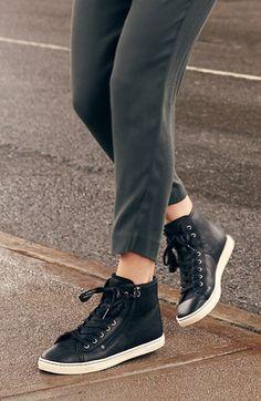 UGG® Australia 'Blaney' Tasseled High Top Sneaker (Women) | Nordstrom