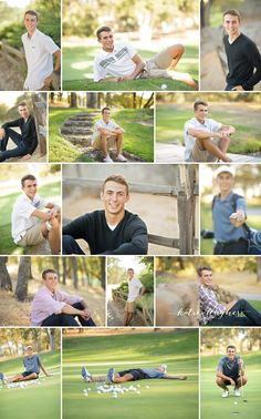 great senior guy photos golf natural