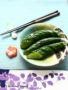Grandma's pickled cucumber by Mino Niwa Bento Recipes, Ramen Recipes, Cooking Recipes, Healthy Recipes, Japanese Dishes, Japanese Food, Homemade Ramen, Cook At Home, Fermented Foods