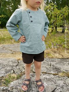 """Kroschka: Das """"Michel aus Lönneberga""""-Outfit Pullover, Sweaters, Outfits, Fashion, Sewing For Kids, Princess, Sewing Patterns, Clothes, Moda"""