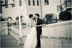 photos on the docks - wedding day @ westshore yacht club