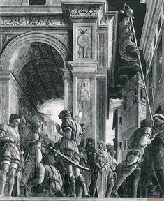 St. James the Great on his Way to Execution, 1448 - Andrea Mantegna