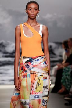 Zimmermann SS20 NYFW Summer Beach, Skirts, Fashion, Moda, Fashion Styles, Skirt, Fashion Illustrations, Gowns, Skirt Outfits