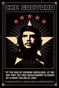 Che Guevara Revolutionary Communist Pop Art Quote Poster 24 x 36 inches, By Imaginus Posters // $7.95  Features: - Full Size Poster - Condition: Brand New - Size: 24 x 36 inches - This poster will be rolled securely in a sturdy cardboard tube.-  >>Get Inspired! - Visit http://artcaffeine.imobileappsys.com