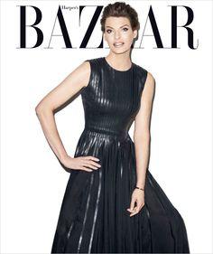 Linda Evangelista for Harper's Bazaar US by Terry Richardson