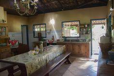 cozinha de fazenda