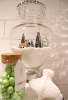 Snowglobe at  Christmas