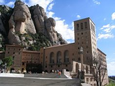 Montserrat - a beautiful day spent here - the line was about an hour wait to see the Black Madonna - we passed
