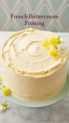 Icing Recipe, Frosting Recipes, Buttercream Frosting, French Buttercream, Best Cake Recipes, Sweet Recipes, Dessert Recipes, Cake Decorating Techniques, Cake Decorating Tips