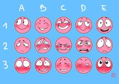 """nina-rosa-draw: """" My own expression meme!!!!! Give me a character and an expression, and I'll (maybe) draw it! …You can mix two expressions for a character if you want too. (it will just be quick..."""