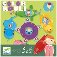 Djeco Color Rouli strategy game