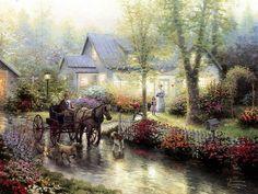Home Is Where the Heart Is 03  Thomas Kinkaid