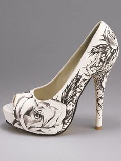 Iron Fist shoes Nice Print~Ashlee Smith via Mrs Strickers onto My Style
